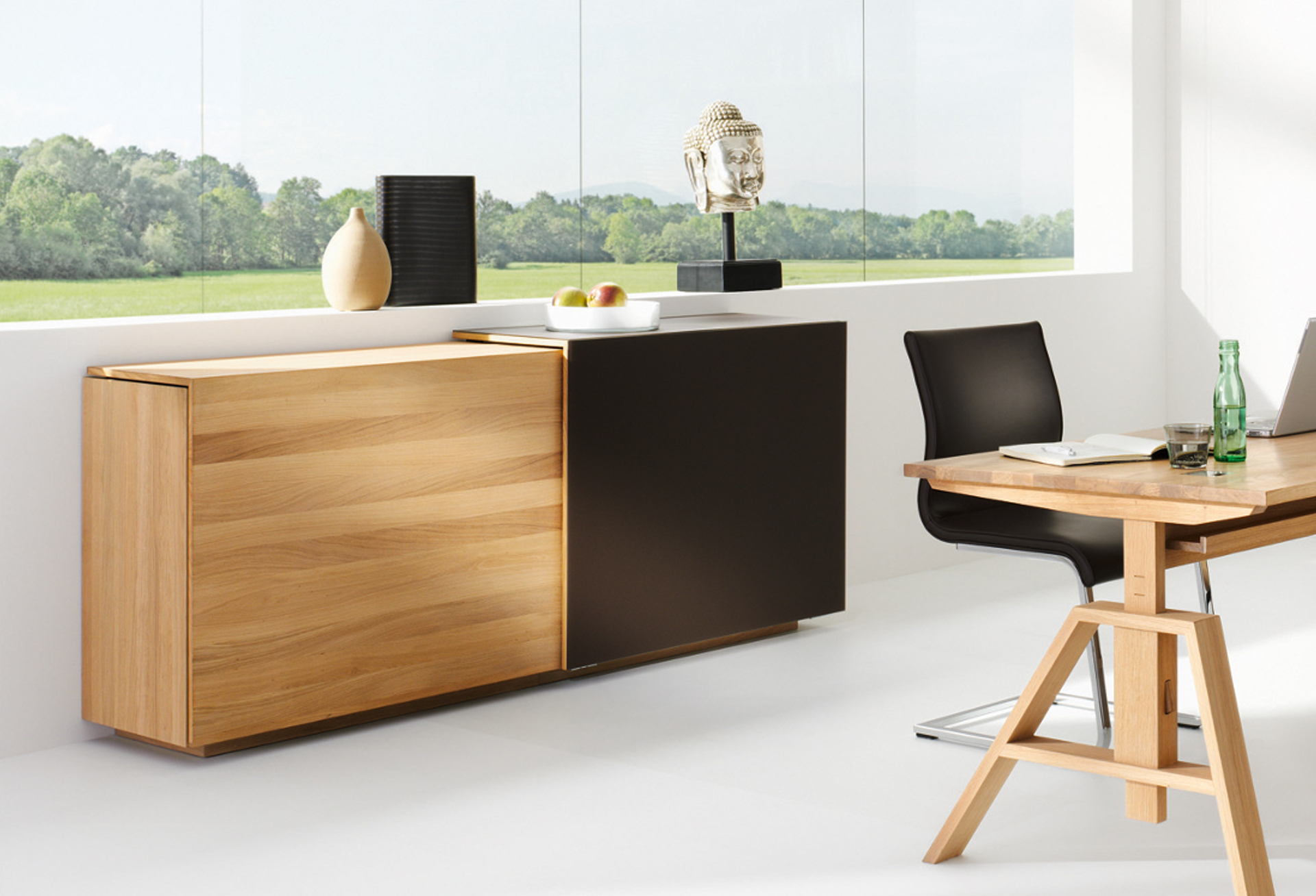 sideboard cubus biom bel genske. Black Bedroom Furniture Sets. Home Design Ideas