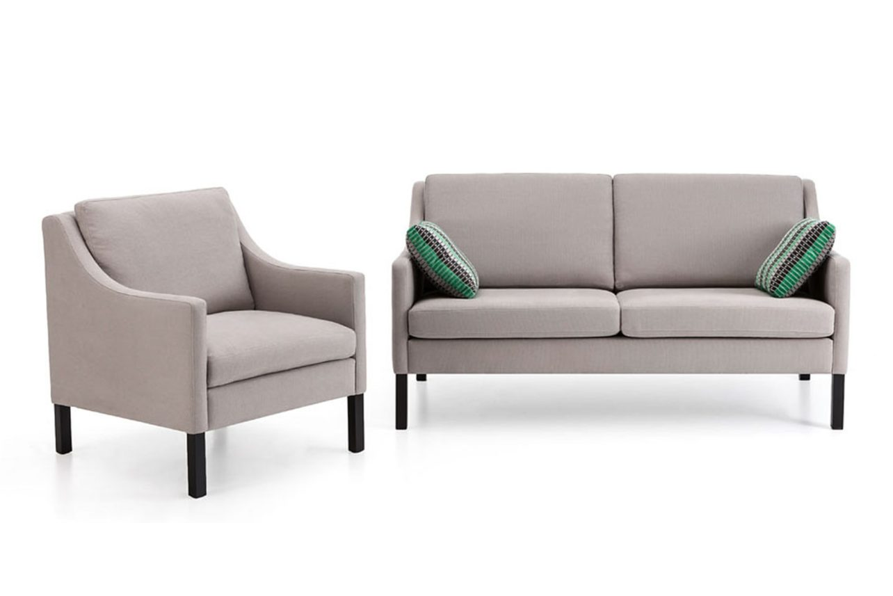 Sofa mit sessel trendy koinor designer leder sofa with for Couch mit sessel