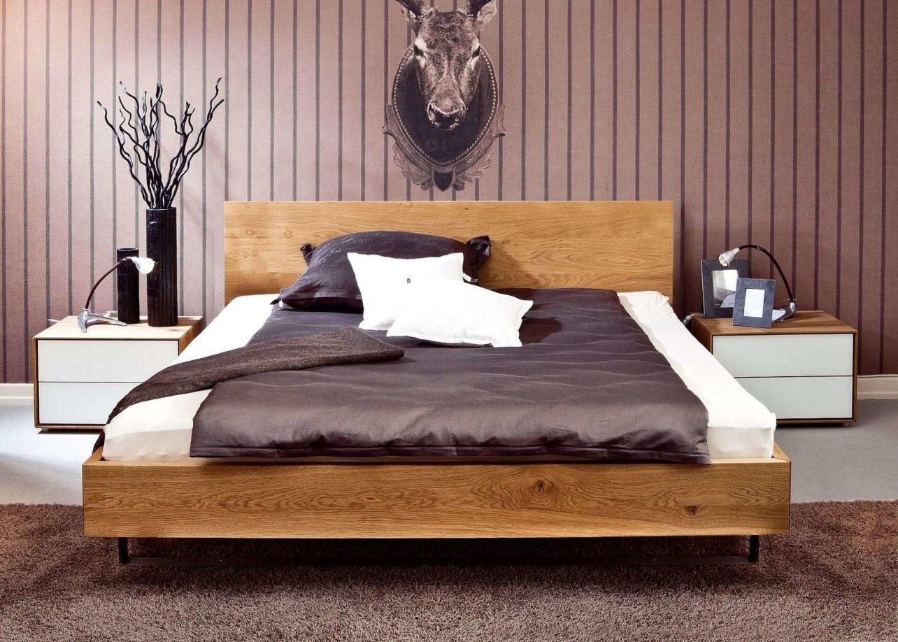 massivholzbetten nach ma in vielen holzarten biom bel genske. Black Bedroom Furniture Sets. Home Design Ideas
